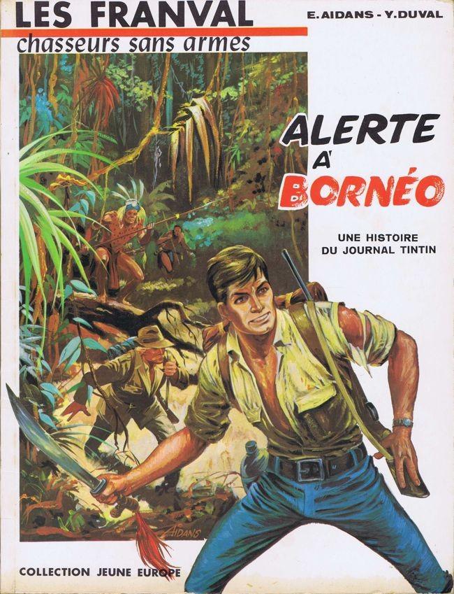 Couverture de Les franval -6- Alerte à Bornéo