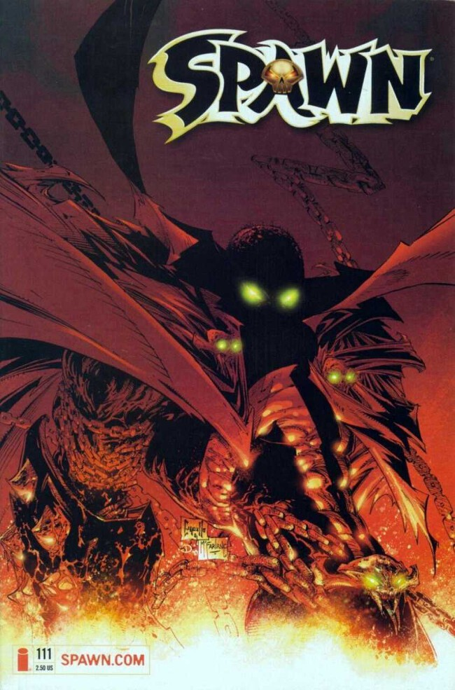 Couverture de Spawn (1992) -111- The Kingdom, Part V