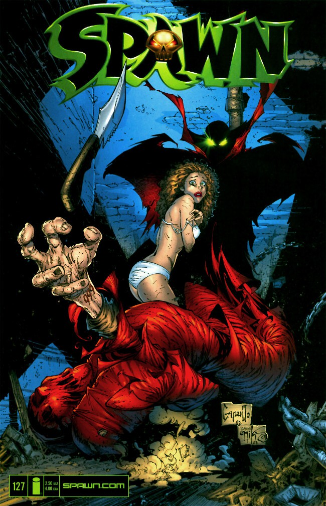 Couverture de Spawn (1992) -127- Wake Up Dreaming - part three