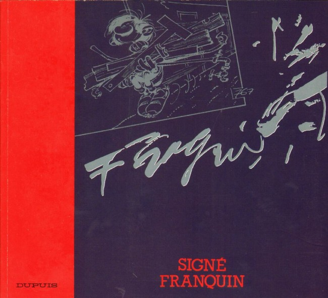 Couverture de (AUT) Franquin -9- Signé Franquin