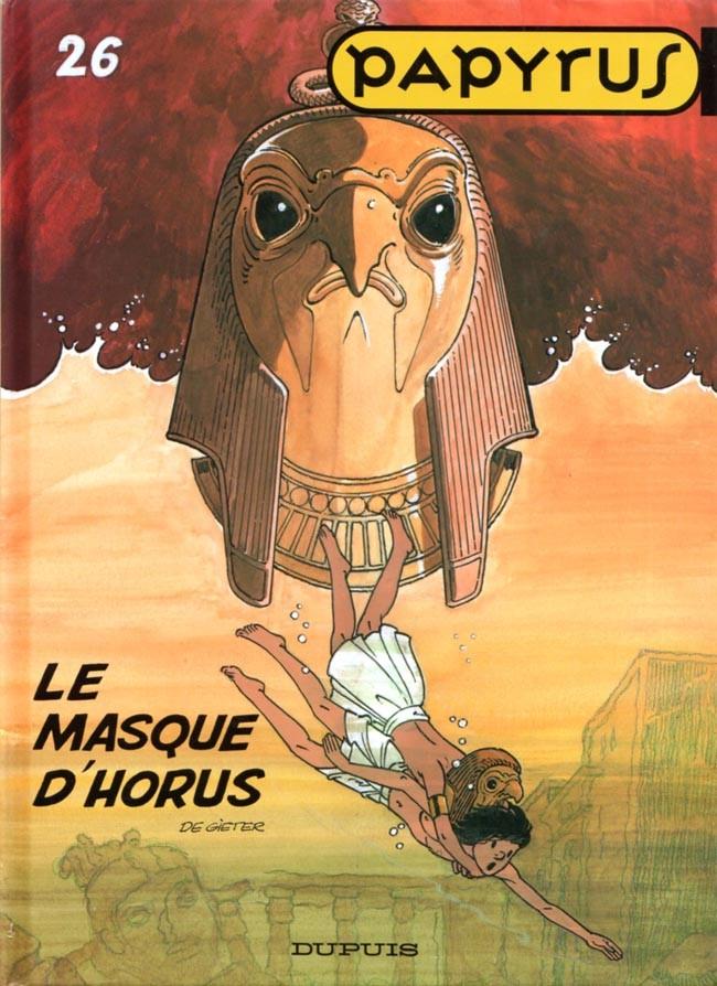 Couverture de Papyrus -26- Le masque d'Horus
