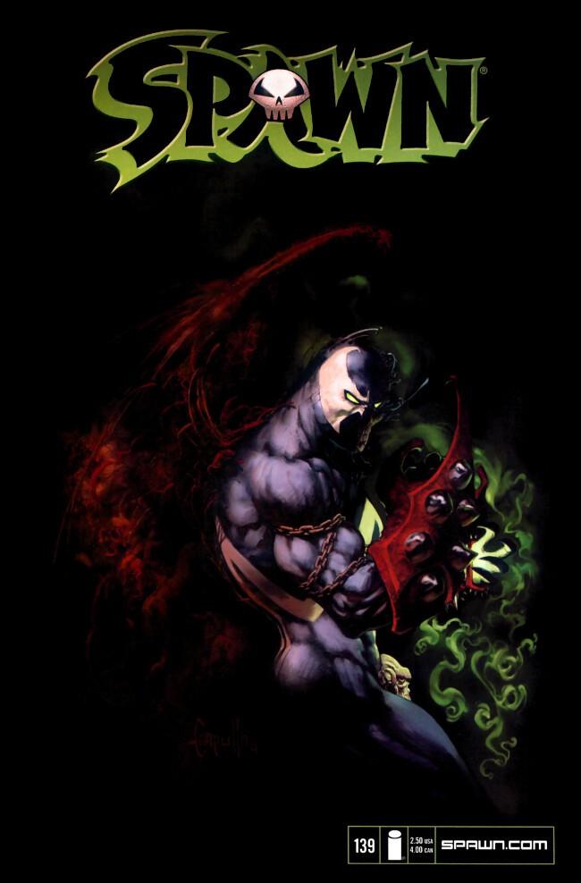 Couverture de Spawn (1992) -139- Hellbound 1
