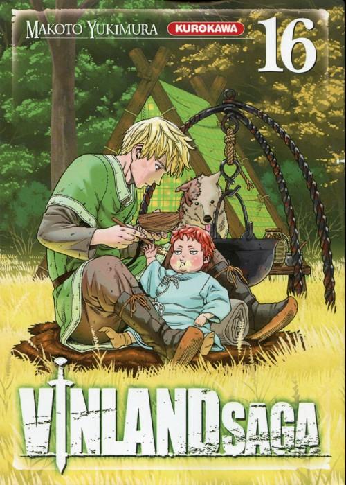 Couverture de Vinland Saga -16- Tome 16