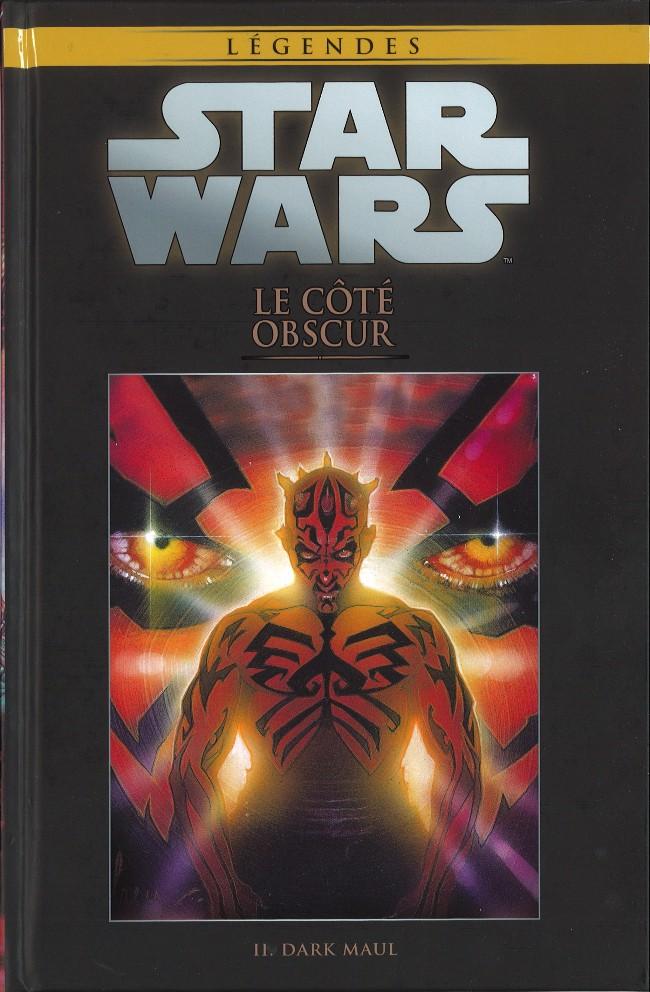 Couverture de Star Wars - Légendes - La Collection (Hachette) -15II- Le Côté Obscur - Dark Maul