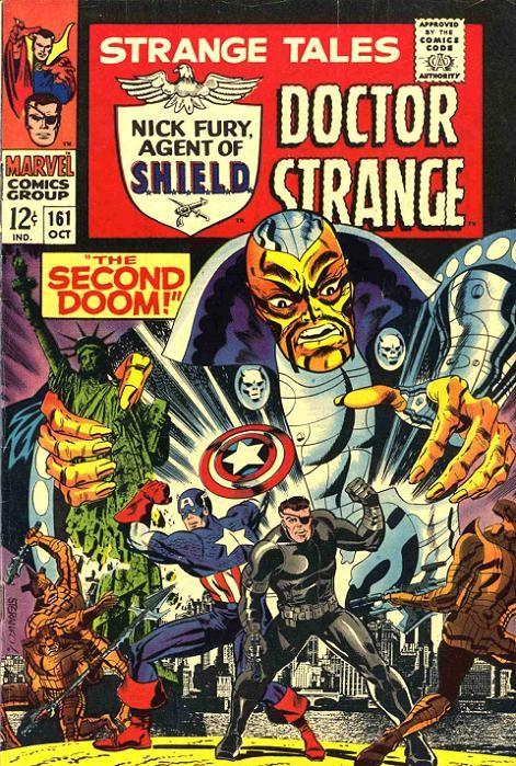 Couverture de Strange Tales (1951) -161-