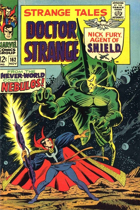 Couverture de Strange Tales (Marvel - 1951) -162- From the Never-World Comes... Nebulos!