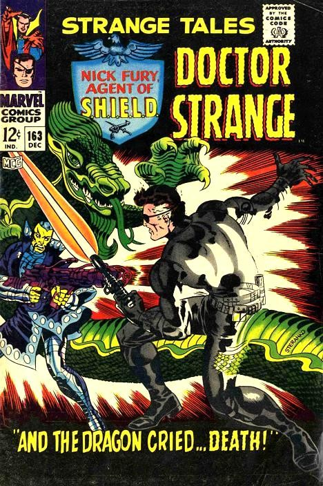 Couverture de Strange Tales (Marvel - 1951) -163- And the Dragon Cried... Death!