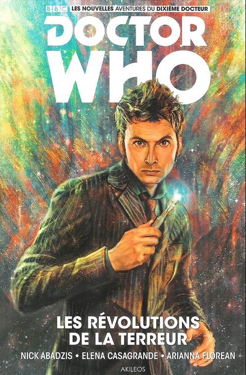 Couverture de Doctor Who - Les nouvelles aventures du dixième docteur -1- Les révolutions de la terreur