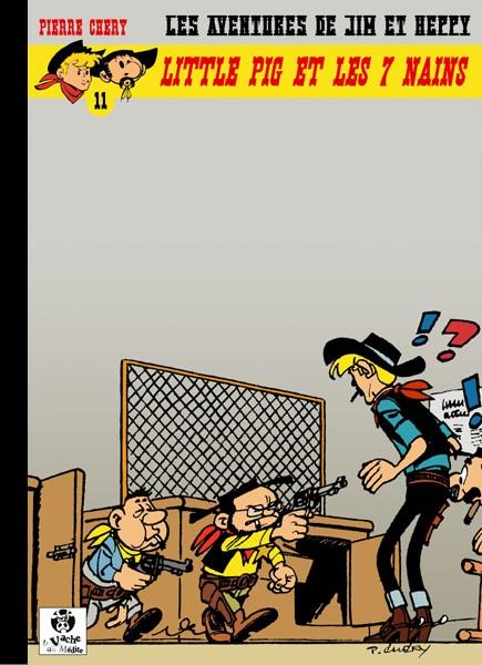 Couverture de Jim L'astucieux (Les aventures de) - Jim Aydumien -11- Little pig et les 7 nains
