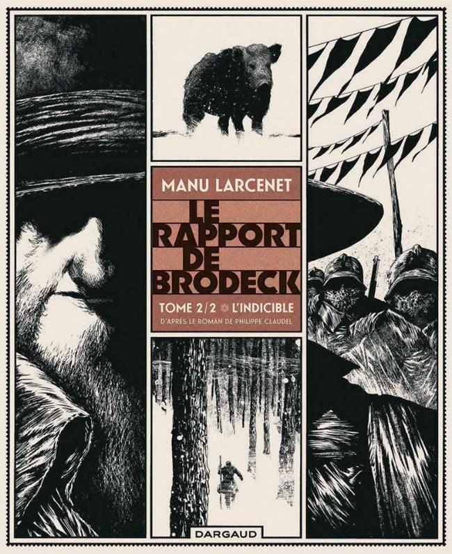 Couverture de Le rapport de Brodeck -2- L'indicible