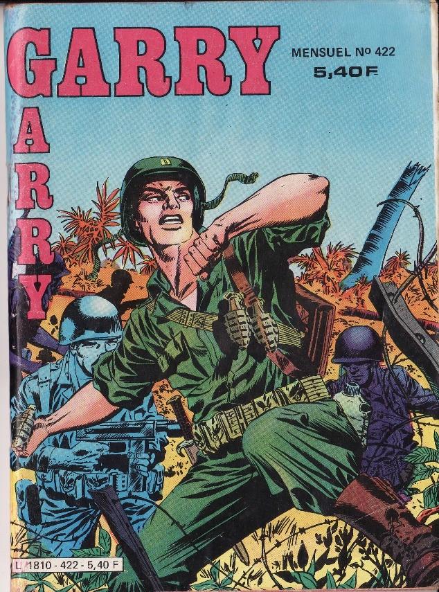 Couverture de Garry (Impéria) (2e série - 190 à 456) -422- Le loup du pacifique