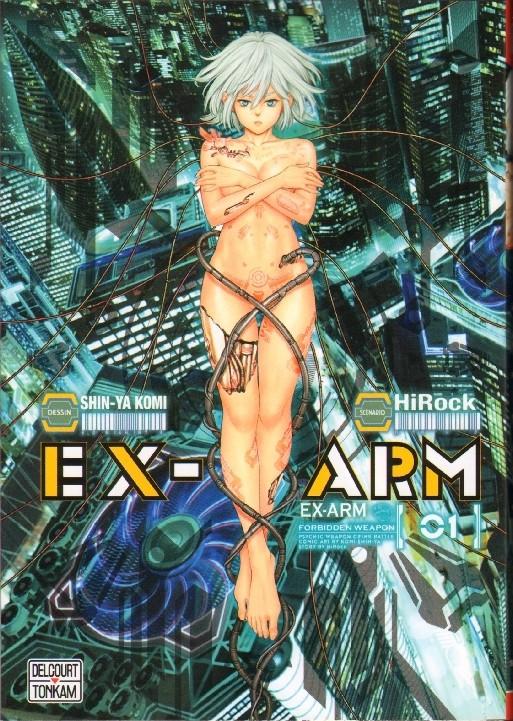 Couverture de Ex-Arm -1- Volume 01