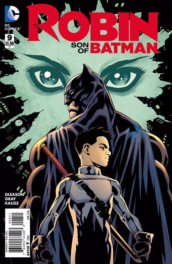 Couverture de Robin: Son of Batman (2015) -9- Better Angels
