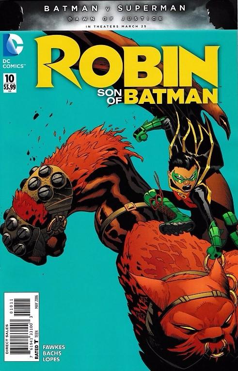 Couverture de Robin: Son of Batman (2015) -10- Son is Rising