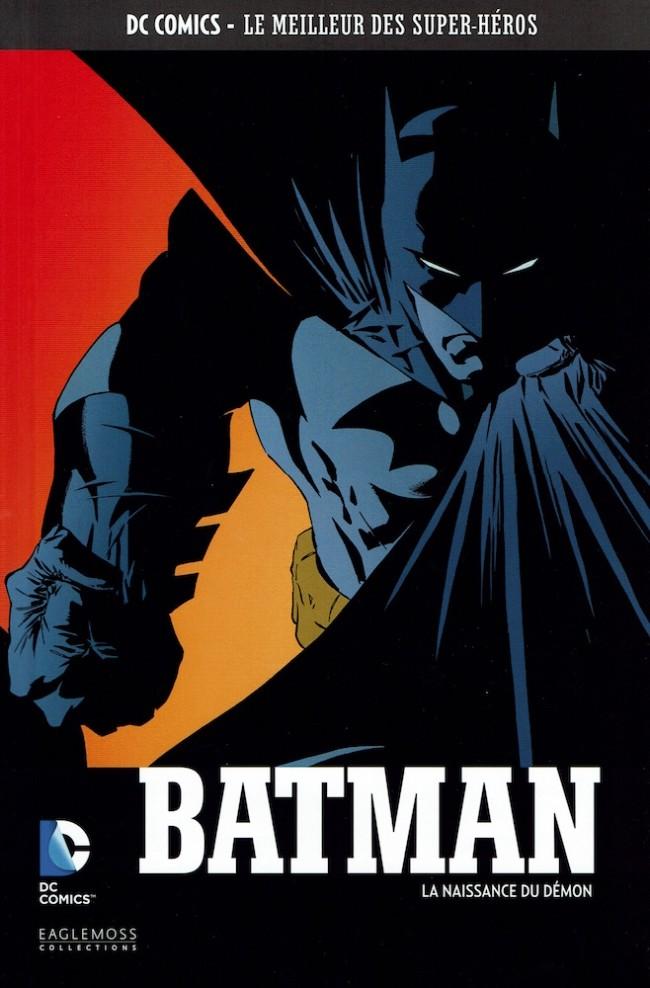 Couverture de DC Comics - Le Meilleur des Super-Héros -21- Batman - La naissance du démon