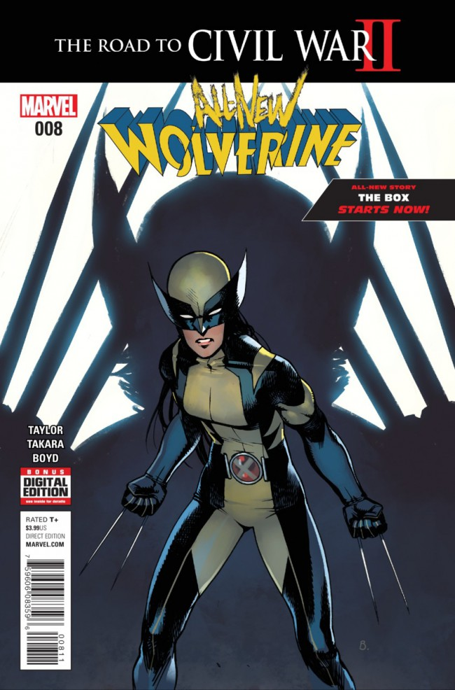 Couverture de All-New Wolverine (2016) -8- Issue 8