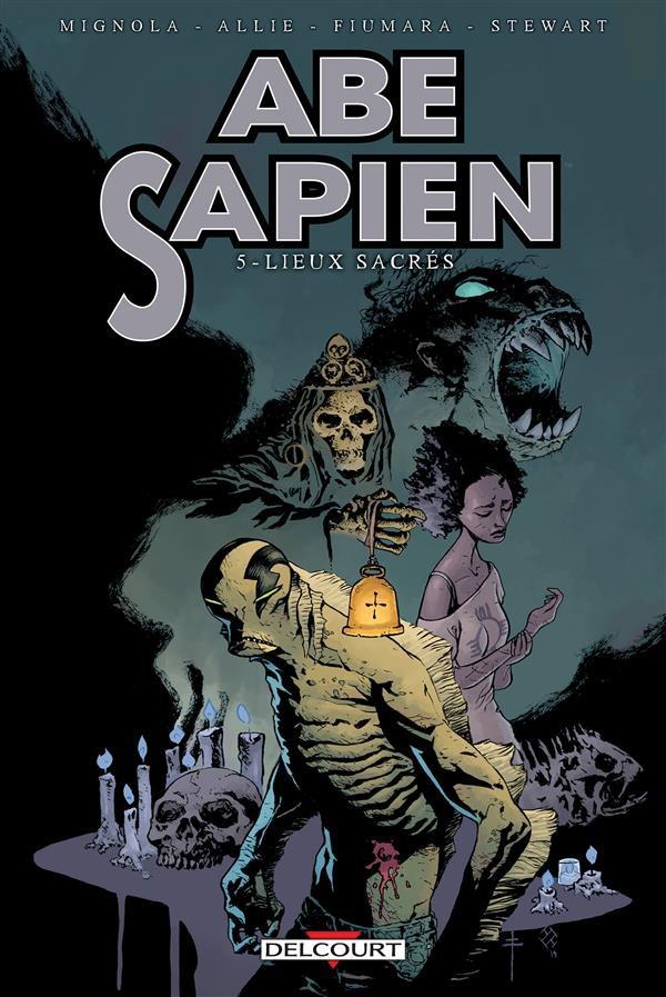Couverture de Abe Sapien -5- Lieux sacrés