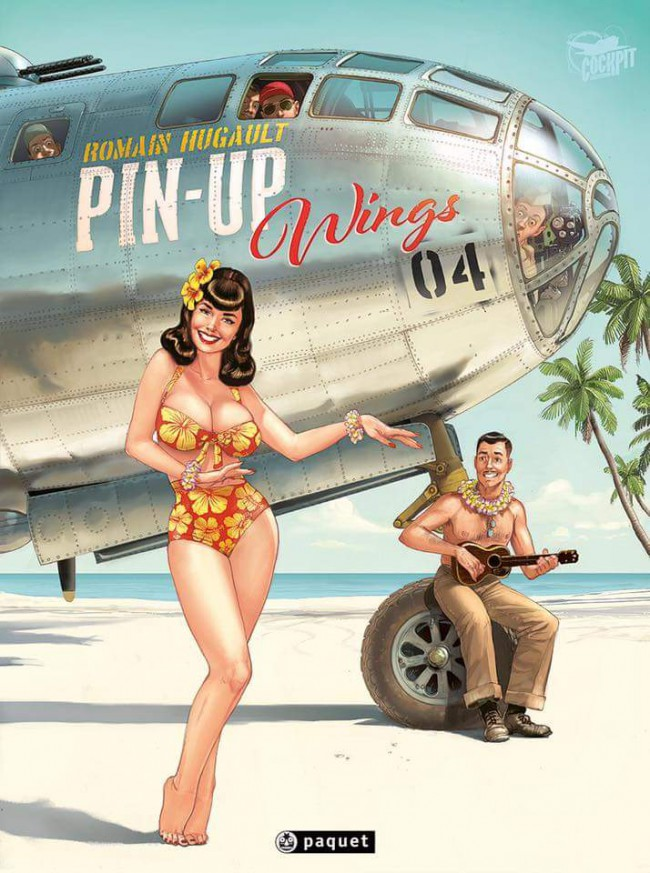 Couverture de (AUT) Hugault -4- Pin-Up Wings 4
