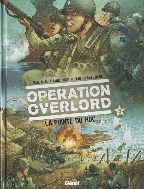 Couverture de Opération Overlord -5- La pointe du Hoc