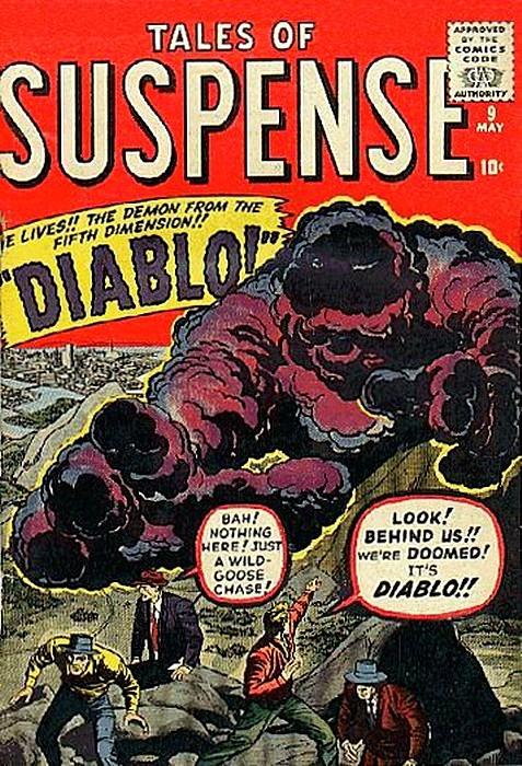 Couverture de Tales of suspense Vol. 1 (Marvel comics - 1959) -9-
