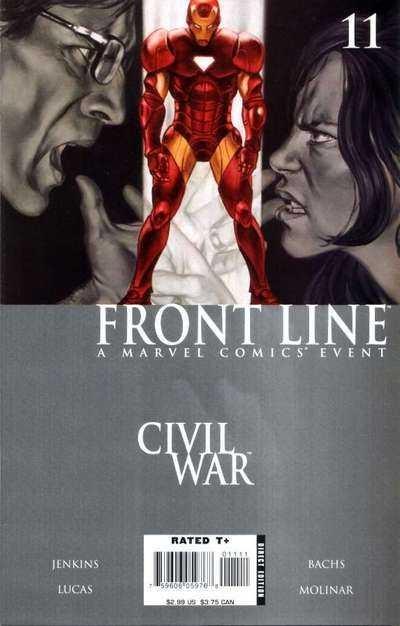 Couverture de Civil War: Front Line (2006) -11- Embedded, Part 11
