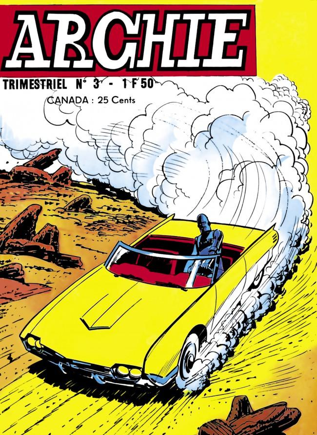 Couverture de Archie (Jeunesse et Vacances) -3- La machine à faire le temps