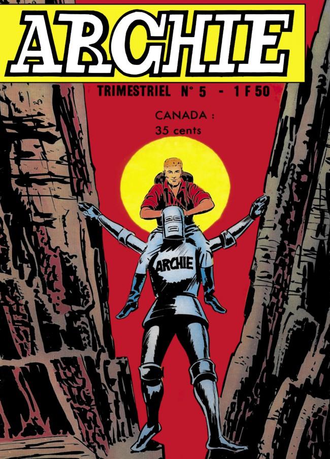 Couverture de Archie (Jeunesse et Vacances) -5- Explorateur