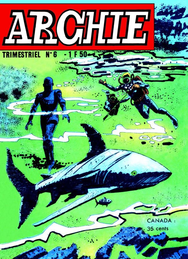 Couverture de Archie (Jeunesse et Vacances) -6- Le tigre du désert