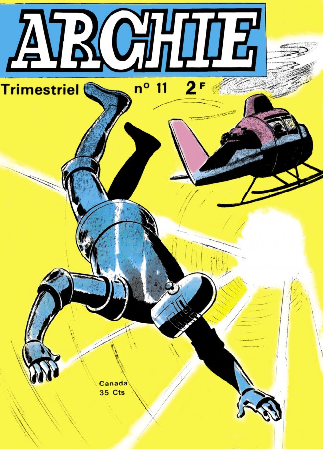 Couverture de Archie (Jeunesse et Vacances) -11- Opération danger