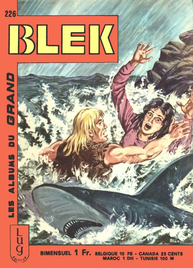 Couverture de Blek (Les albums du Grand) -226- Numéro 226