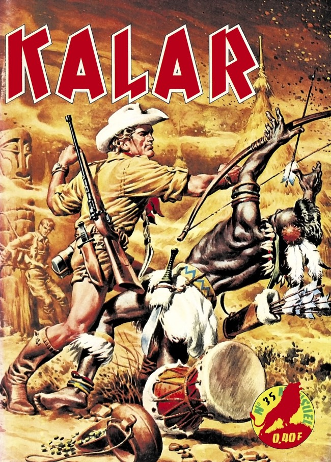 Couverture de Kalar -35- La vengeance de Kinga