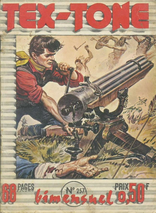 Couverture de Tex-Tone -257- Le rodéo