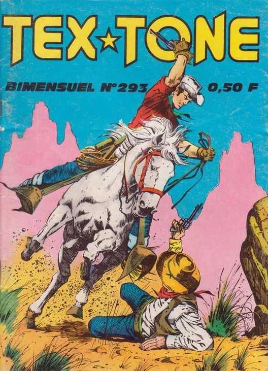 Couverture de Tex-Tone -293- Le sauveur