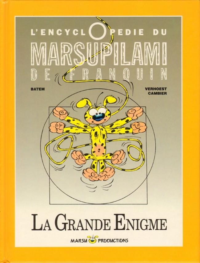 Couverture de Marsupilami -HS- L'encyclopédie du Marsupilami