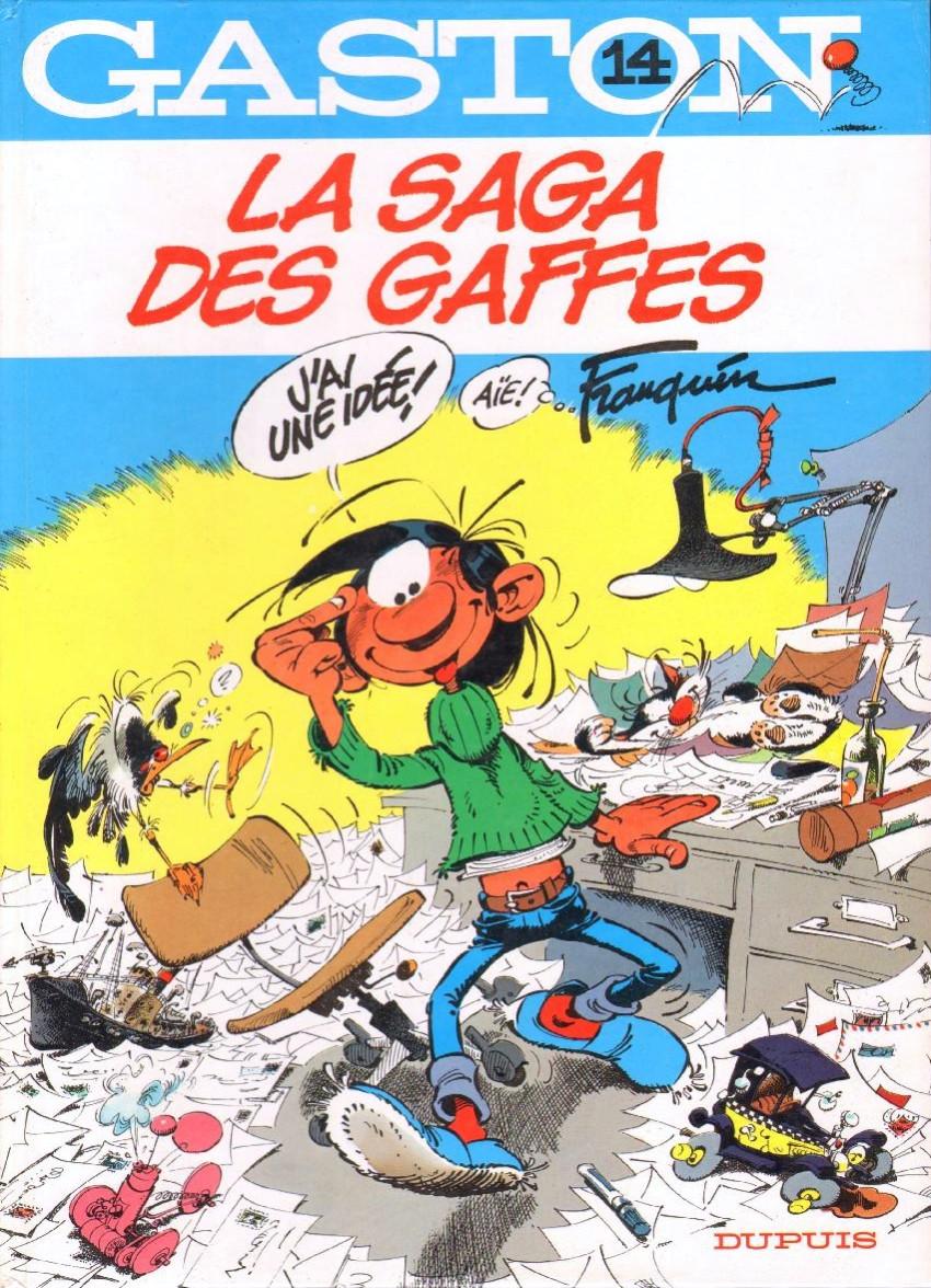 Couverture de Gaston -14- La saga des gaffes