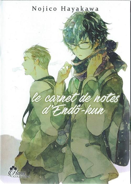 Couverture de Le carnet de notes d'Endô-kun