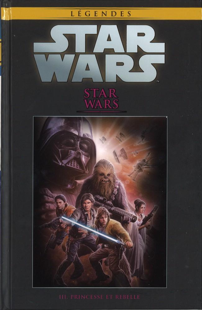 Couverture de Star Wars - Légendes - La Collection (Hachette) -1656- Star Wars - III. Princesse et Rebelle