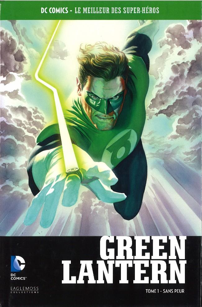 Couverture de DC Comics - Le Meilleur des Super-Héros -Premium01- Green Lantern - Tome 1 - Sans peur