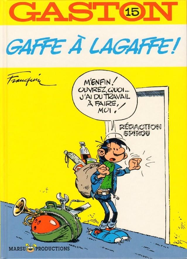 Couverture de Gaston -15- Gaffe à Lagaffe !