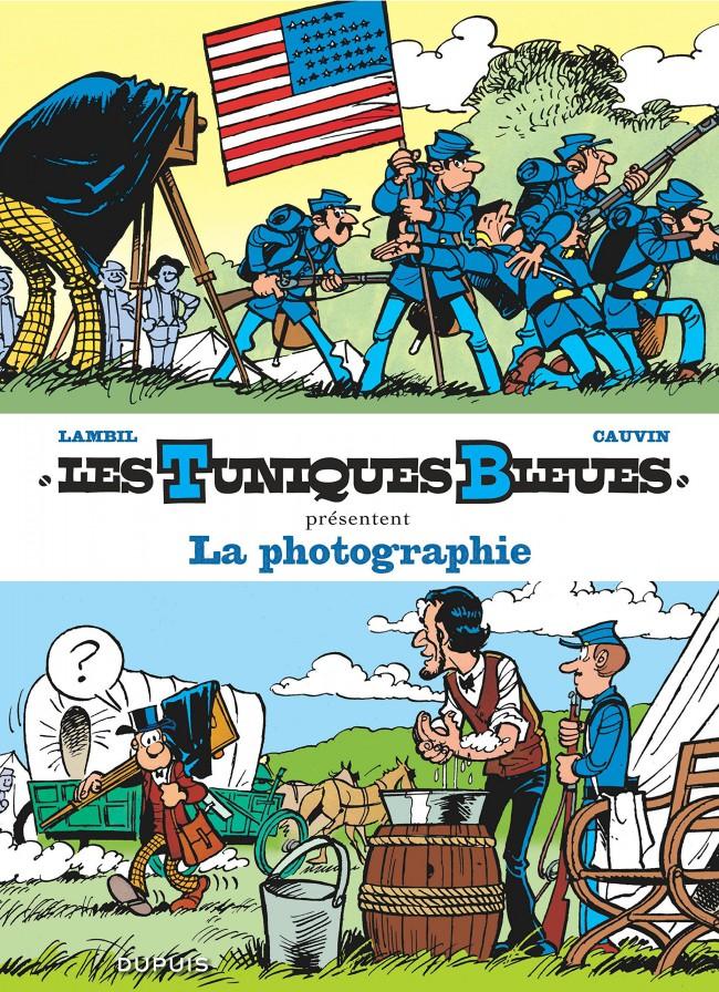 Couverture de Les tuniques Bleues présentent -5- La photographie