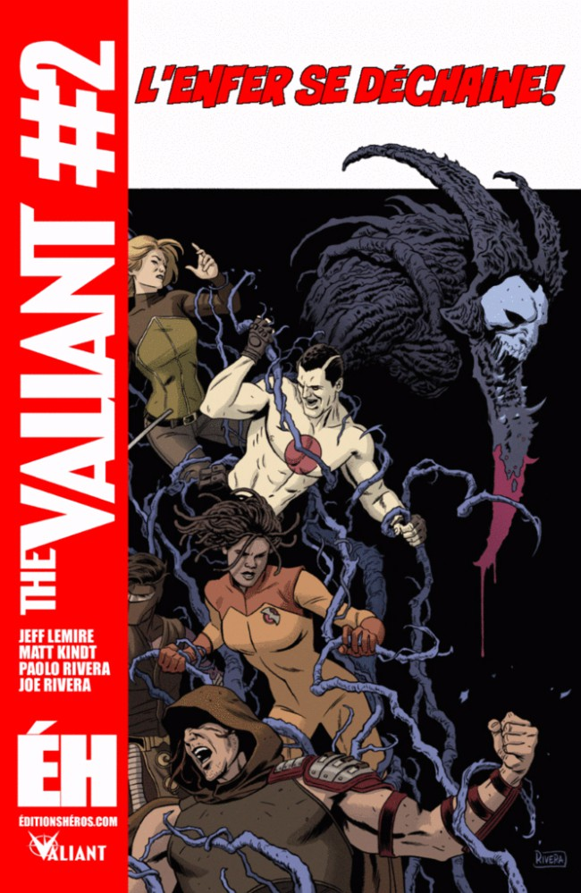 Couverture de The valiant -2- Le commencement
