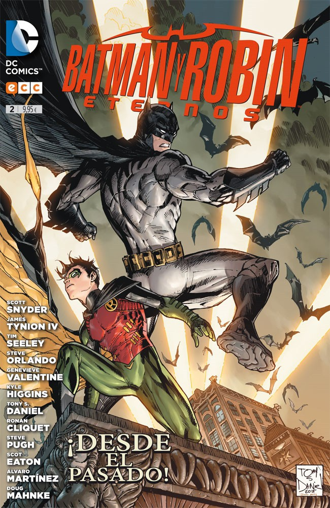 Couverture de Batman y Robin Eternos -2- Batman y Robin Eternos núm. 02