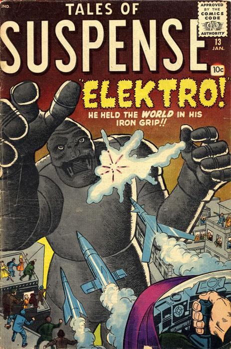 Couverture de Tales of suspense Vol. 1 (Marvel comics - 1959) -13-