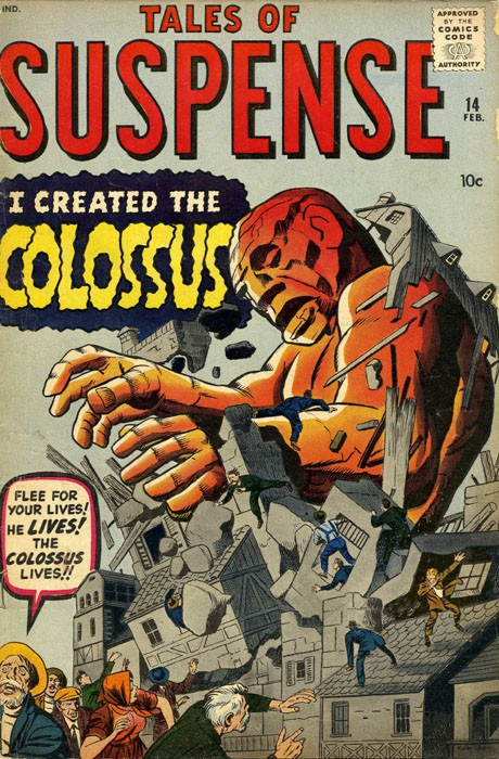 Couverture de Tales of suspense Vol. 1 (Marvel comics - 1959) -14- I created the Colossus!