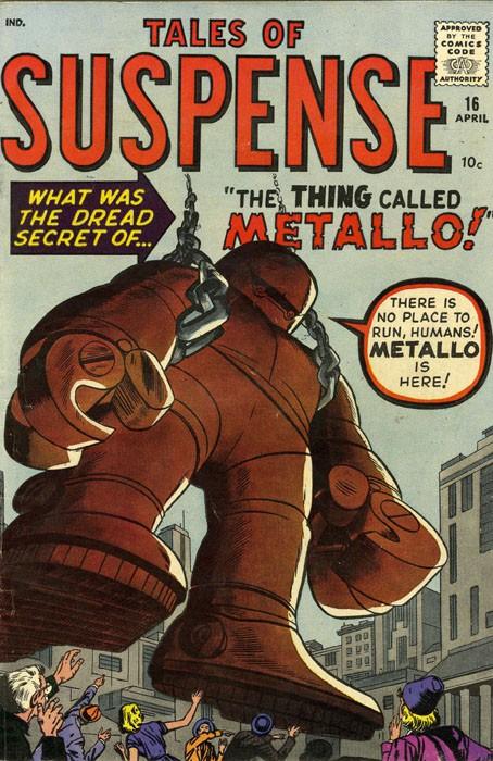 Couverture de Tales of suspense Vol. 1 (Marvel comics - 1959) -16-