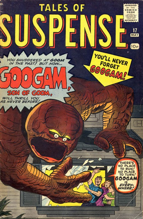 Couverture de Tales of suspense Vol. 1 (Marvel comics - 1959) -17- Googam, son of Goom