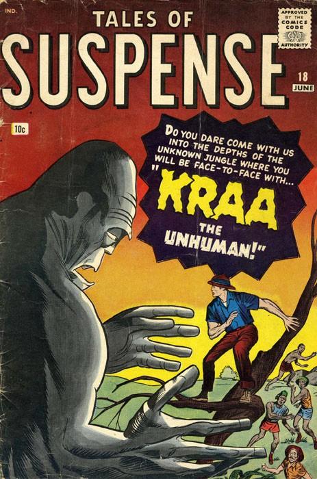 Couverture de Tales of suspense Vol. 1 (Marvel comics - 1959) -18-