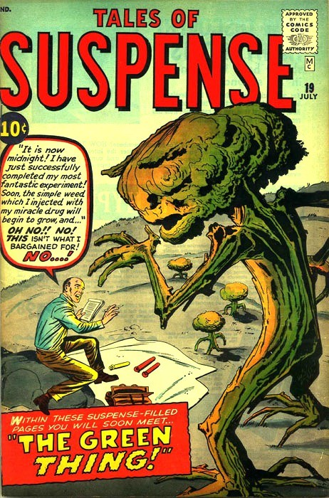 Couverture de Tales of suspense Vol. 1 (Marvel comics - 1959) -19-