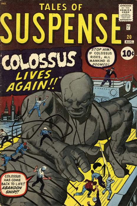 Couverture de Tales of suspense Vol. 1 (Marvel comics - 1959) -20-