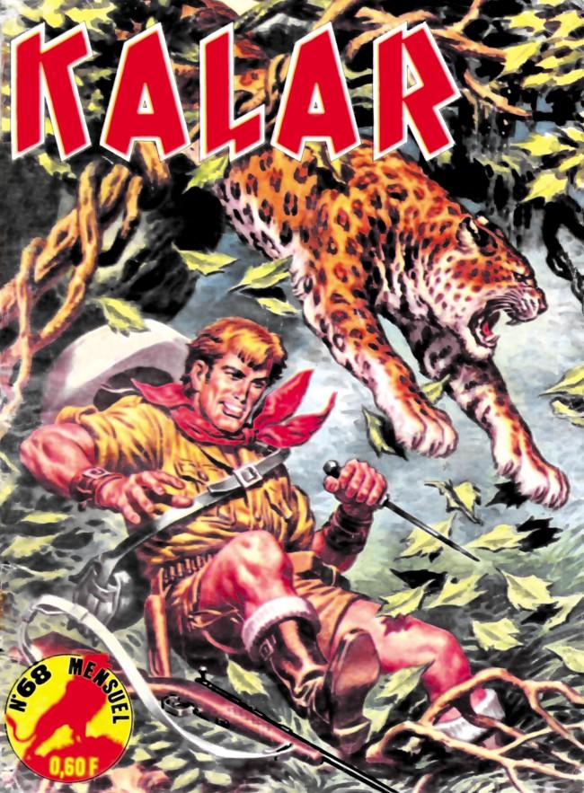Couverture de Kalar -68- La révolte des gorilles